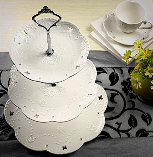 Tier Porcelain Cake Stand