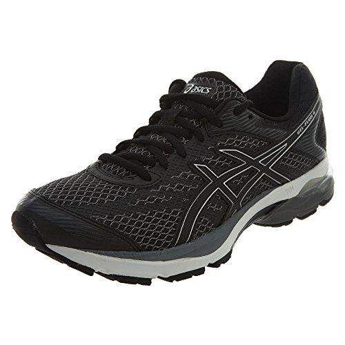 ASICS Mens Gel-Flux 4 Running Shoe, Black/Onyx/Silver, 9.5 Medium US