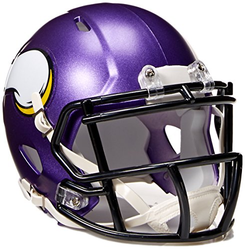 - NFL Minnesota Vikings Speed Mini Helmet