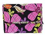 Vera Bradley Euro Wallet Clutch Purse Handbag in Pirouette Pink