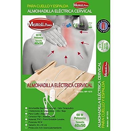 Almohadilla Electrica Cervical - Terapeutica tipo chaleco