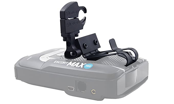 BlendMount Audi Aluminum Radar Detector Mount for Escort Max Series (Except Max 360C/IX