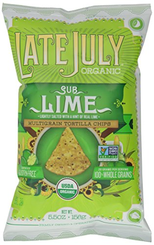 Organic Tortillas (Late July Chip Snack Mltgrn Sublime, 5.5 oz)