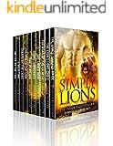 Simply Lions: A Ten Book Paranormal WereLion Romance Collection