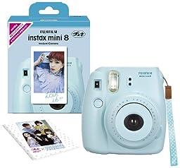 Fujifilm Instax Mini 8 Ins Mini 8 Instant Camera 62 X 46mm (Blue)