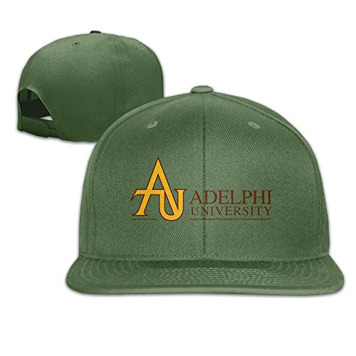 Ogbcom Adelphi University Snapback Adjustable Flat Baseball Cap/Hat