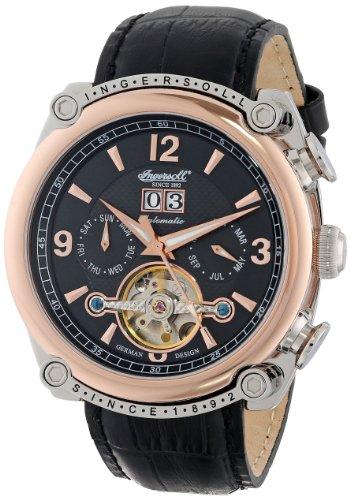 Ingersoll Men's IN6907RBK Cimarron Analog Display Automatic Self Wind Black Watch