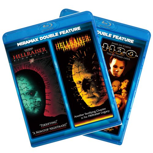 Hellraiser: Bloodline / Hellraiser: Inferno / Halloween: The Curse of Michael Myers / Halloween: H20 [Blu-ray] -