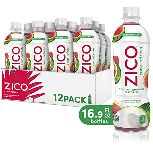ZICO Coco-Refresh Cool Watermelon Flavored, 16.9 fl oz (Pack of 12)