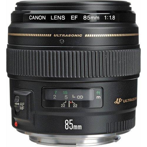 EF 85mm f/1.8 USM Medium Telephoto Lens W/ Deluxe Accesory