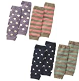 Luckystaryuan ® Christmas Gift Baby Leg Protector Children Cotton Knee Leg Warmer Set of 4 Review