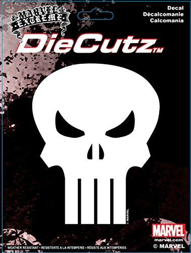 Chroma 40007 Punisher Skull Die Cutz Decal