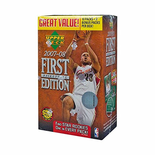 08 Basketball Rookie Pack (2007-08 Upper Deck First Edition Basketball 12ct Blaster Box)