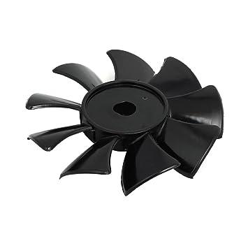 sourcing map Compresor de Aire Negro 550W/750W 115mm de Diám. de 9 paletas de Ventilador de Sustitución: Amazon.es: Coche y moto