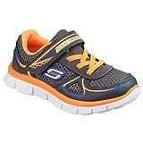 Skechers Childrens/Kids Flex Advantage Mini Race Memory Foam Touch Fastening Shoes