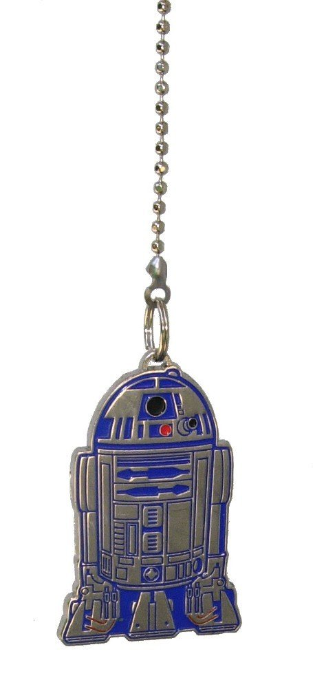 Star Wars R2-D2 Robot Droid Character Metal Ceiling Fan Pull Chain extender