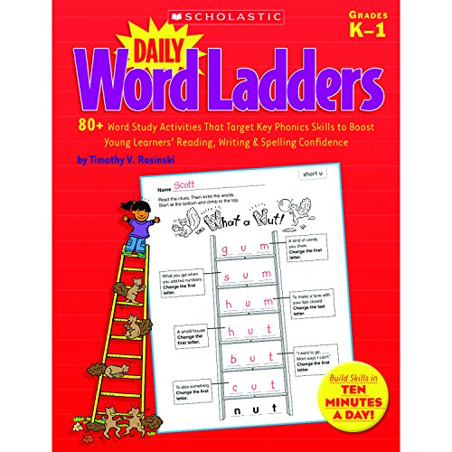 - Daily Word Ladders: 80+ Word Study Activities That Target Key Phonics Skills to Boost Young Learners' Reading, Writing & Spelling Confidence
