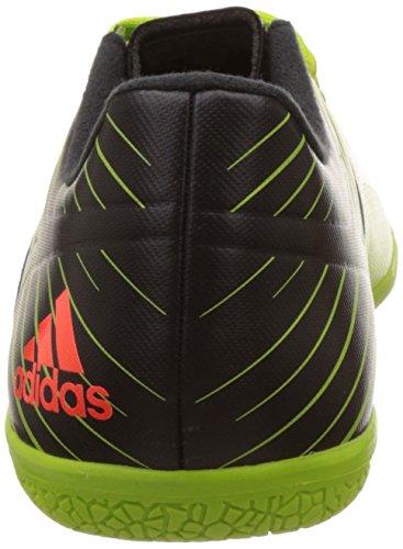 adidas Messi 15.3 In, Botas de Fútbol para Hombre Verde / Rojo / Negro (Seliso / Rojsol / Negbas)