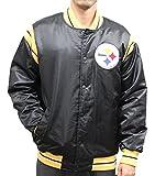 (US) STARTER Pittsburgh Steelers NFL Men's The Enforcer Premium Satin Jacket