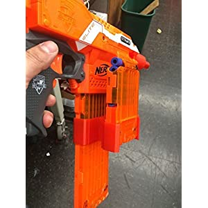 3D Printed Nerf Dual Clip Holder