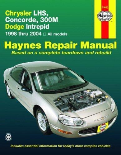 Chrysler LHS,Concorde,300M,Dodge Intrepid, 1998-2004 (Haynes Repair Manual) (2009-03-15)