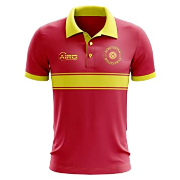 Airosportswear - Polo de fútbol para niños, diseño de Rayas, Color ...
