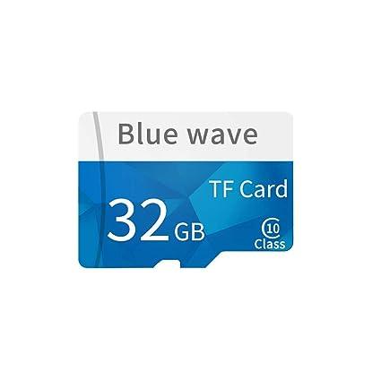 Docooler Tarjeta de Memoria de 8 GB / 16 GB / 32 GB / 64 GB / 128 GB de Gran Capacidad Clase 10 TF Tarjeta de Almacenamiento de Datos de Tarjeta TF ...