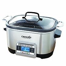 Crock-Pot 6 Qt 5-in-1 Multicooker, Stainless Steel