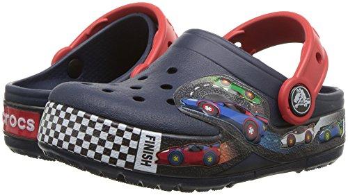 Crocs Crocband Fun Lab Woody Light-up Clog, Navy Blue, 9 M US Toddler (1-4 Years) by Crocs (Image #6)