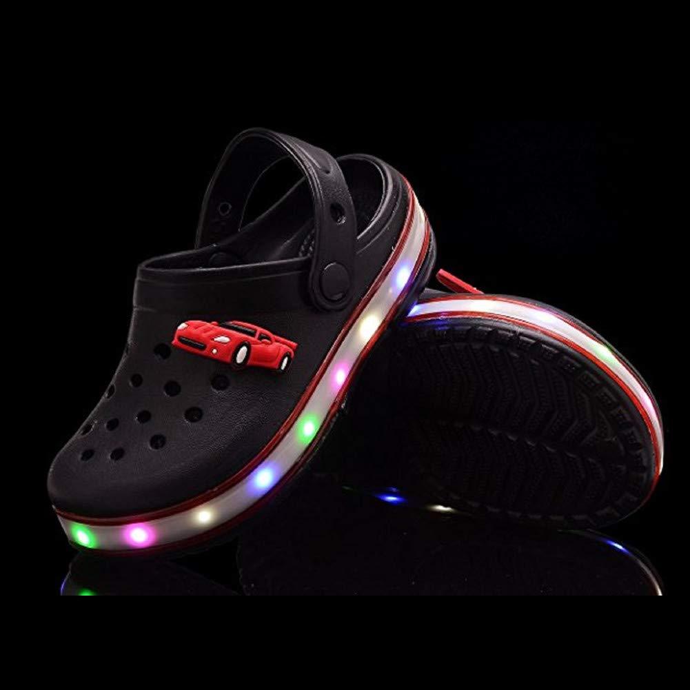 Sandalias luminosa de moda unisexluz para de informal LED niños cocina TFJ351Kcul