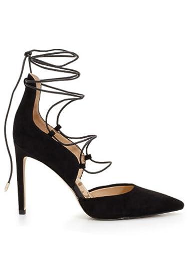d646de14b9e2 Sam Edelman - Helaine Suede Lace Up Heel - Black
