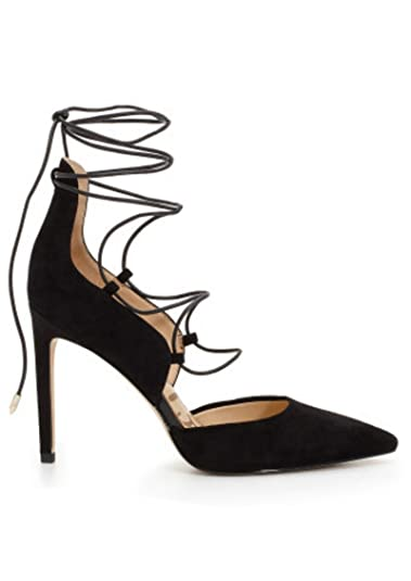81dafc707 Sam Edelman - Helaine Suede Lace Up Heel - Black