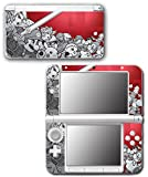 Super Smash Bros 3D Melee Brawl Red Video Game Vinyl Decal Skin Sticker Cover for Original Nintendo 3DS XL System