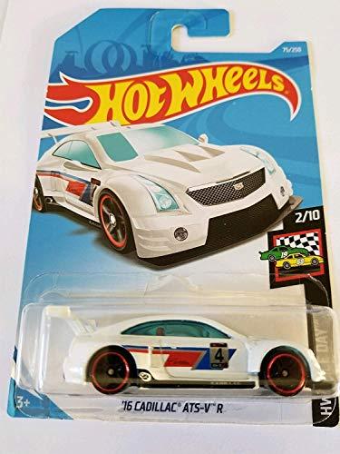 Hot Wheels 2019 Hw Race Day 2/10 - '16 Cadillac ATS-V R (White)