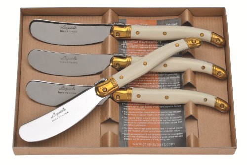 - Jean Dubost Laguiole 4 Spreaders in Craft Box
