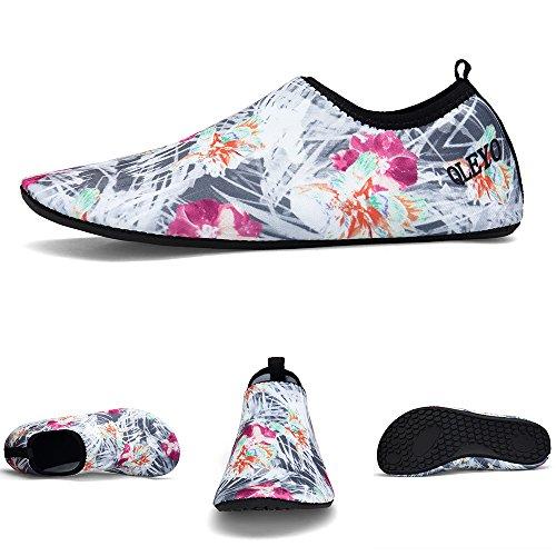 Skin Beach Quick Swim Water Shoes QLEYO Yoga Barefoot for Shoes and for Women Men Water Shoes Shoes Dry surf Style22 xSxv7Cqw