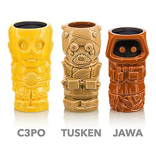Star Wars Geeki Tikis - Series 2 Set of 6 CP30 Jawa Tusken Tauntaun Wampa Wicket