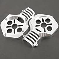 Metal Motor Frame 55mm for 30mm Tube Arm KDS Kylin for SKY-HERO SPY/SPYDER/SPYDER6 Quadcopter/Multicopter Silver Pair