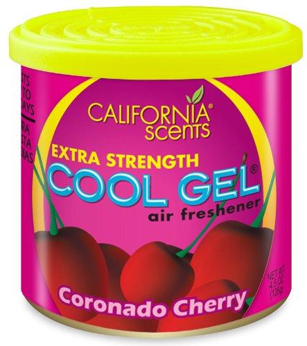 California Scents 4.5 Oz Coronado Cherry Cool Gel Car Air Fr