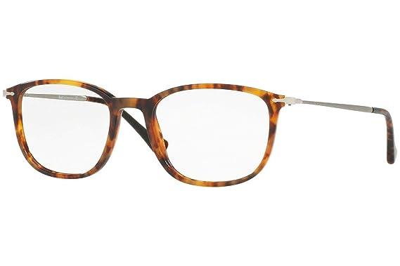 bc94f01886 Amazon.com  Persol PO3146V Eyeglasses 51-19-140 Light Havana w Demo ...