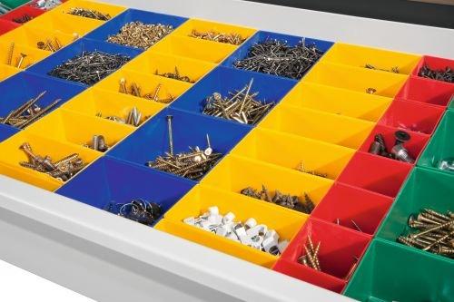 Schubladeneinteilungen   für Kunststoffkästen für  Werkzeugschrank B93xT50 60cm 45d2b1