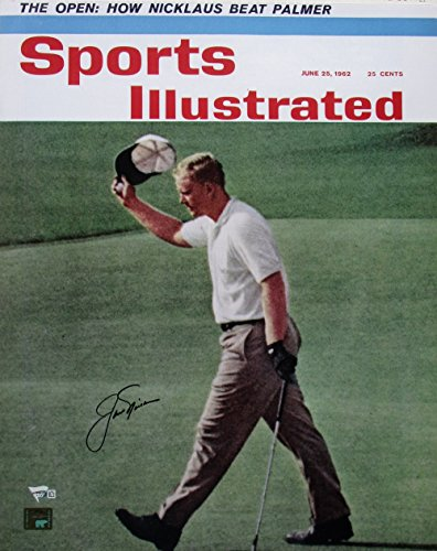 Jack Nicklaus Signed Sports Illustrated June 25, 1962 16x20 Photo Fanatics