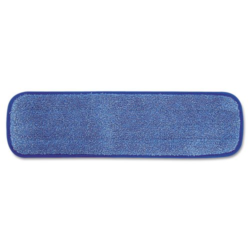 Rubbermaid Commercial Microfiber Wet Room Pad, Split Nylon/Polyester Blend, 18'' - 12 pads.