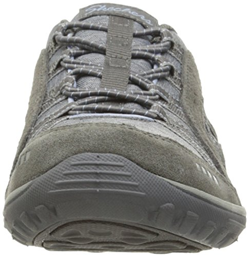 Skechers Women's Reggae Fest-Epic Advent Low-Top Sneakers, Black, 5 Grey