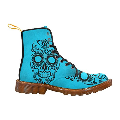 LEINTEREST Skull Martin Boots Fashion Shoes For Women 6Pi7xjw6C