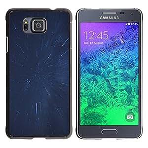 Stuss Case / Funda Carcasa protectora - Splashing Stars - Samsung ALPHA G850