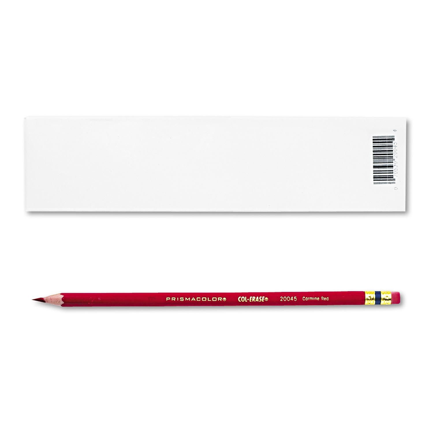 2 DOZEN: Prismacolor Col-Erase Erasable Colored Pencil Carmine Red by Prismacolor
