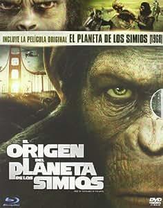 Pack El Planeta de los Simios (Blu-Ray + Dvd + Copia Digital) [Blu-ray]