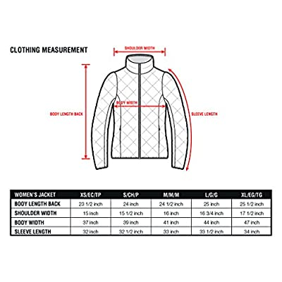 XPOSURZONE Women Packable Down Quilted Jacket Lightweight Puffer Coat: Clothing