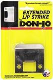 Don-Jo EL 175 18 Gauge Extended Lip Strike, Blackened Satin Nickel Plated, 1-3/4'' Width x 2-1/4'' Height (Pack of 10 )